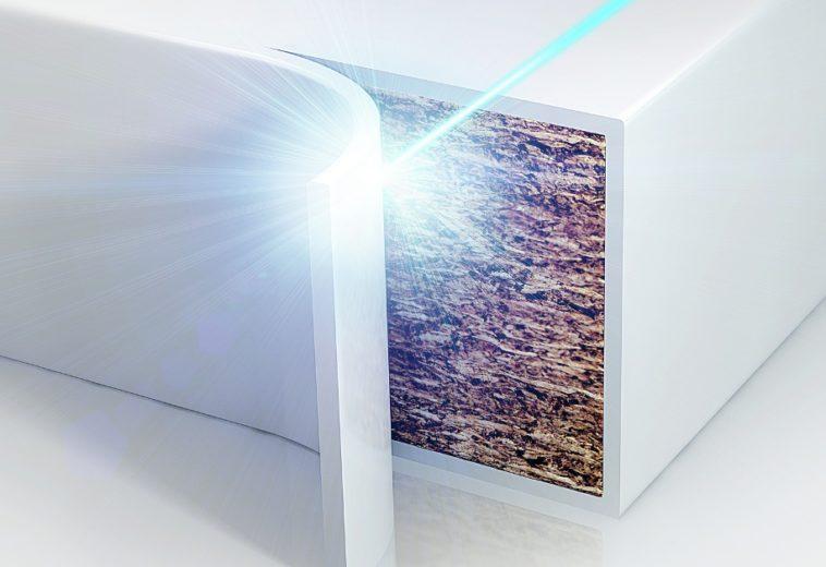 Laserové hrany – nulová škára