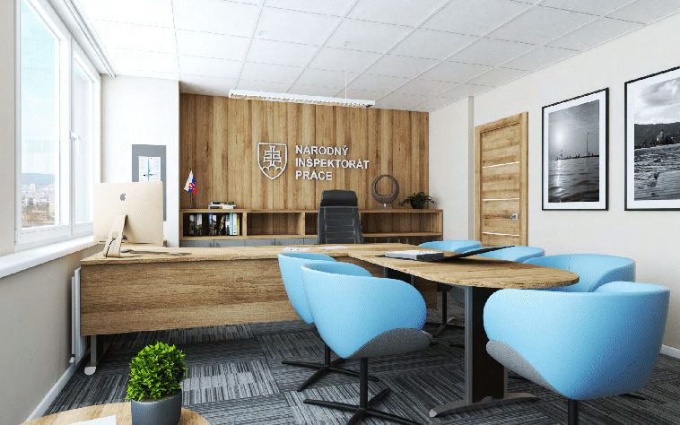 Návrh kancelárií NIP